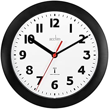 Acctim Parona Radio Controlled Wall Clock Wall Clock Acctim