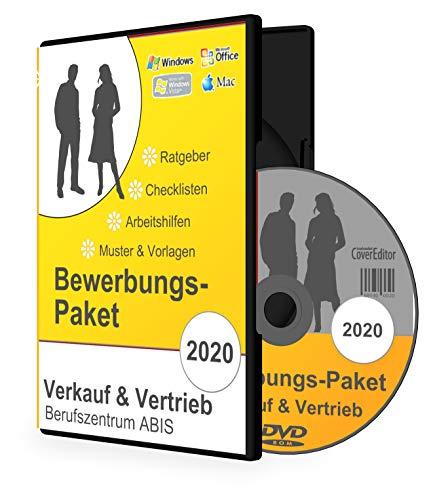 Bewerbungspaket VERKAUF & VERTRIEB: Bewerbungs-Ratgeber, Checklisten und 10 komplette Musterbewerbungen für Verkäufer/Verkäuferinnen als MS-Word-Dateien auf CD-ROM