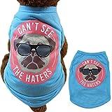 Lanking Hunde Chihuahua Haustiere Westen, Hund Welpen Katze Sommer Cool Bekleidung Kostüm Kleidung, Gentleman Hund-M