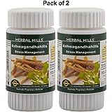 Herbal Hills Ashwagandhahills 60 Capsule Pack Of 2 Ayurvedic Ashwagandha Withania Somnifera 350mg Powder And Extract...