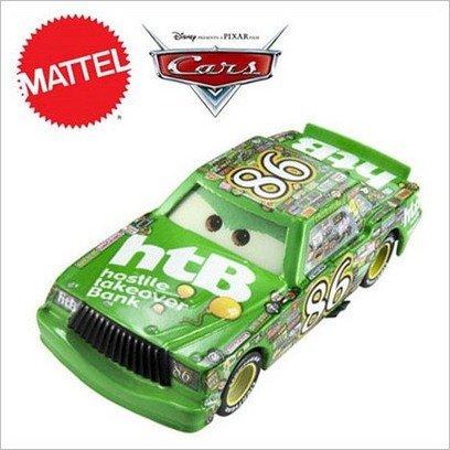 disney-pixar-cars-chick-hicks-86-nouvelle-sans-emballage-voiture-miniature-echelle-155