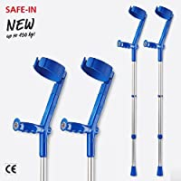 Invacare Safe In Crutches (Pair)