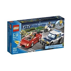 LEGO City - Superszybki pościg 60007 [KLOCKI] 0885379798150 LEGO