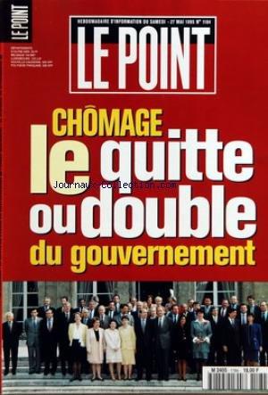 POINT (LE) [No 1184] du 27/05/1995 - LA LETTRE DE