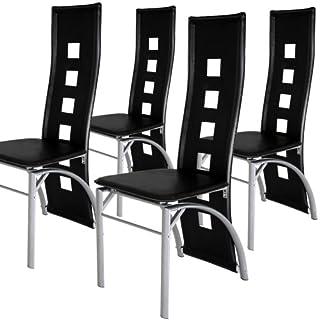 Miadomodo Sedia cucina set di sedie per tavolo sala da ...
