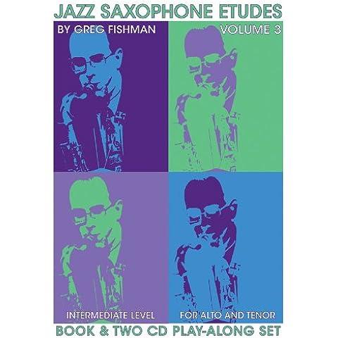 Vol.3-Jazz Saxophone Etudes