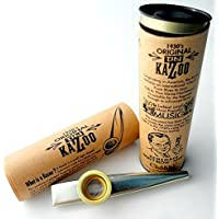 Original Tin Kazoo - Made just as the original Gold Top by Flights of Fancy