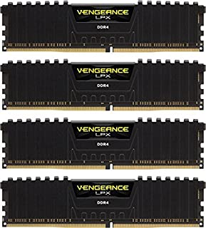 Corsair Vengeance LPX - Módulo de Memoria XMP 2.0 de Alto Rendimiento de 16 GB (4 x 4 GB, DDR4, 3200 MHz, C16) Color Negro (B0196QN82U) | Amazon price tracker / tracking, Amazon price history charts, Amazon price watches, Amazon price drop alerts