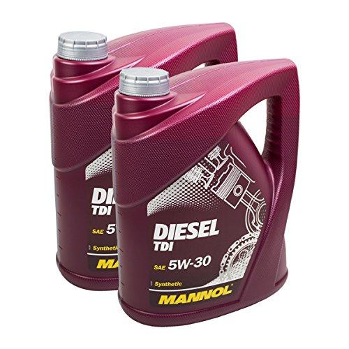 2X MANNOL MN7909-5 Diesel TDI 5W-30 Motoröl API SN/CF 5L