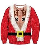 Weihnachtpullover bedruckt Christmas Mantel