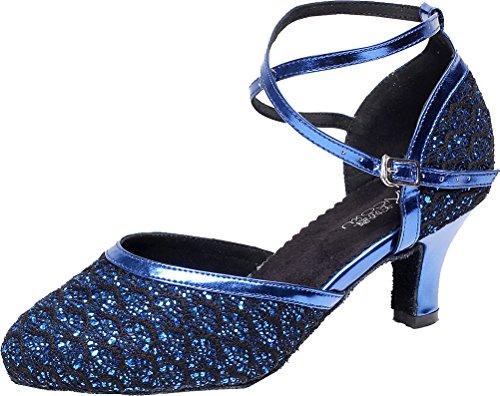 CFP , Damen Tanzschuhe Blau blau