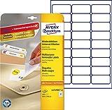 Avery Zweckform L4737REV-10 Universal-Etiketten 10 Blatt weiß