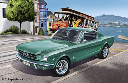 revell-maqueta-1965-ford-mustang-2-2-fastback-escala-124-07065