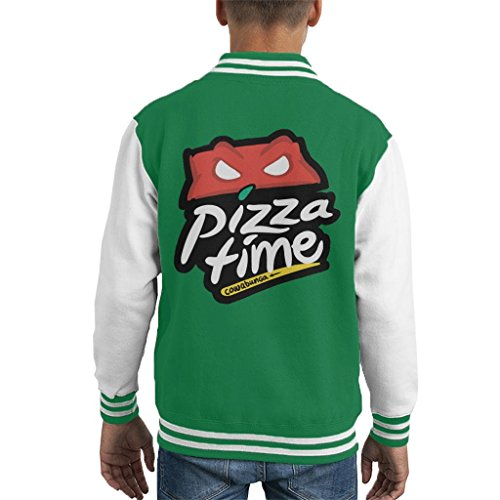 Mutant Ninja Turtles Pizza Hut Logo Kid's Varsity Jacket ()