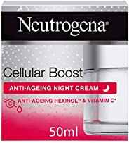 Neutrogena Face Cream, Cellular Boost, Anti-Ageing Night Cream, 50ml