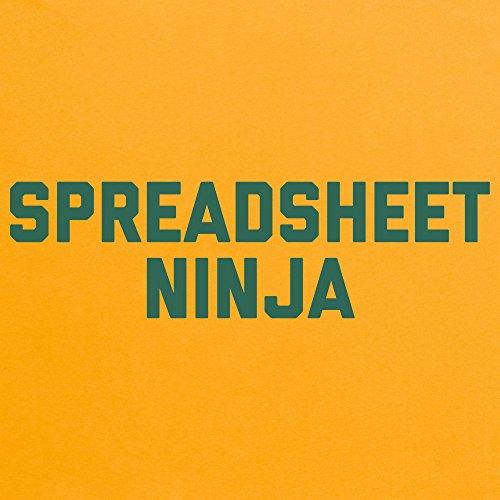 Spreadsheet Ninja 2 T-Shirt, Herren Gelb