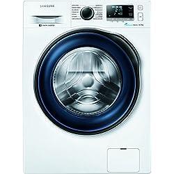 Samsung WW80J6400CWEG Waschmaschine / A+++ / Frontlader / 1400 UpM 8 kg / SchaumAktiv / Trommelreinigung / blau