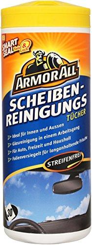 3 x ArmorAll 37025L Scheibenreinigungs-Tücher 30 Stk. Fahrzeugscheiben KFZ