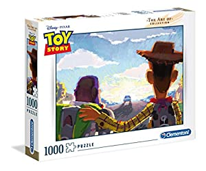 Clementoni The Art of Puzzle-Disney tangled-1000 Unidades, 39491
