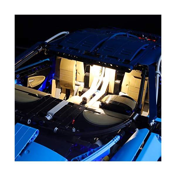 BRIKSMAX Kit di Illuminazione a LED per Lego Technic Bugatti Chiron,Compatibile con Il Modello Lego 42083 Mattoncini da… 5 spesavip