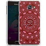 Samsung Galaxy A3 (2016) Housse Étui Protection Coque Mandala Été Rouge