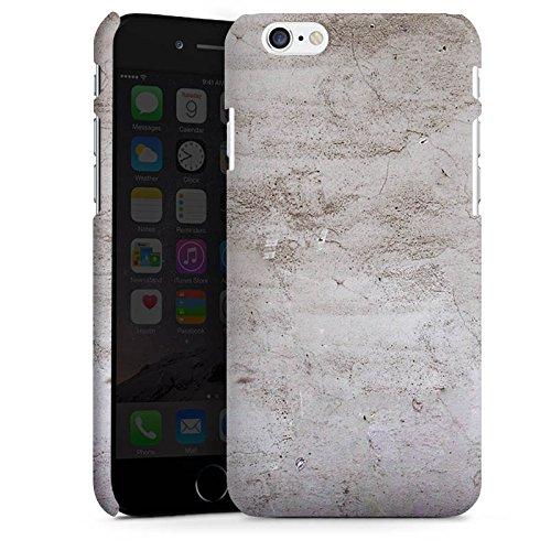 Apple iPhone X Silikon Hülle Case Schutzhülle Stein Struktur Wand Premium Case matt