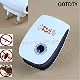 #6: New Enhanced Version Electronic Ultrasonic Anti Mosquito Insect Repeller Rat Mouse Cockroach Pest Reject Repellent EU Plug