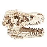 SRI Resin Crocodile Skull Aquarium Decoration for Fish Tank