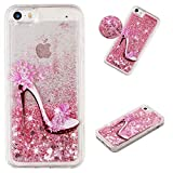 YKTO Liquide Coque IPhone 5 / Se / 5S 4.0' Clair Souple Gel Silicone Crystal Cover...