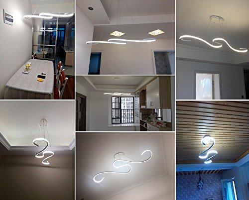 Plafoniere Sospensione Per Ufficio : Zz joakoah® lampadario a sospensione led moderna