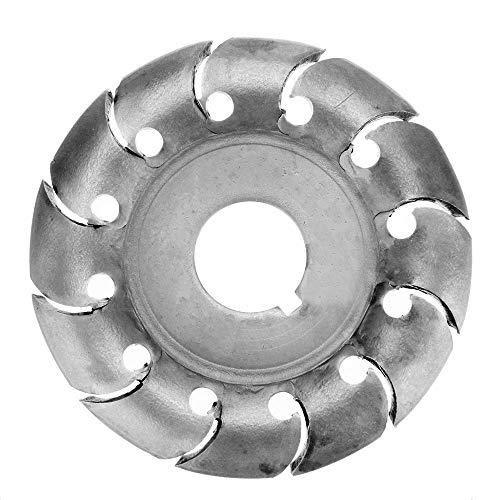 65 mm Holzformscheibe Holz Tranchierscheibe 16 mm Bohrung 12 Zähne Extreme Shaping Disc für 100/115 Winkelschleifer Holzbearbeitungswerkzeug