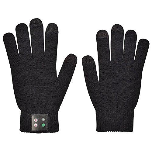 Handschuhe anschließen Bluetooth 3.0 kompatibel anzeigen schwarze Farbe touch