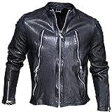 Redskins - Blouson en cuir Royce Janeiro Black - Couleur Noir - Taille M