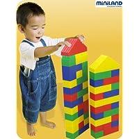Miniland 32470 Kim Bloc - Caja con bloques de construcción grandes (40 piezas) [Importado de Alemania]