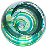 Caithness Glass Dartington Retro-Green Vortex-New, Multicolore, Taglia Unica