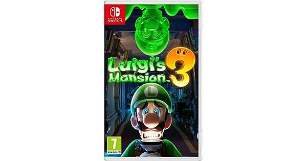 Luigi S Mansion 3 Standard Edition Nintendo Switch Amazon