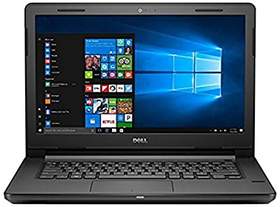 Dell Vostro 3468 14-inch Laptop (7th Gen i3/4GB/1TB/Windows 10/Integrated Graphics), Black with Pre-loaded with MS Office