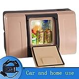 SSLL 18 Litri Frigorifero per Auto di Grande capacità Frigorifero per Auto Portatile Mini Frigo Portatile Termoelettrico Camion Frigorifero Congelatore Cibo Congelatore,A-Home