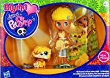 Littlest Pet Shop - 36964 - Blythe Loves LPS - Groovy Gold / Goldig & Gelb - Blythe #B41 & Hund #2409