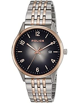 Police Analog Black Dial Men's Watch-PL14925JSTR61MJ