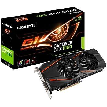 Carte Graphique Gigabyte GeForce GTX 1060 G1 Gaming