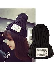 Invierno cálido sombrero hicieron punto los sombreros de la gorrita tejida del casquillo sombreros de moda Stocking Sombrero, 25