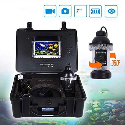 Angeln Finder 50 Meter High Definition 360 Grad 18 LEDs Lichter Allround Unterwasser Fisch Zucht Überwachungskamera Angelgerät Angeln Finder