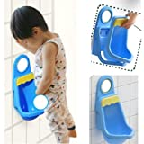 SODIAL (R)Children Potty Toilet Training Kids Urinal Plastic for Boys Pee with 4 Suction