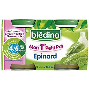 Blédina - Mon 1er Petit Pot Epinard dès 4 mois 2x130g