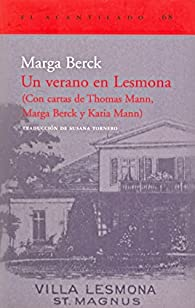 Un verano en Lesmona par Marga Berck