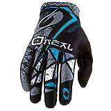 O'Neal Matrix Fahrrad Handschuhe Zen MTB DH BMX MX FR All Mountain Bike Enduro Freeride Downhill, 0388-Z, Farbe Petrol, Größe L