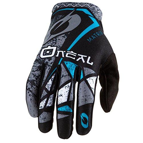 O'Neal Matrix Fahrrad Handschuhe Zen MTB DH BMX MX FR All Mountain Bike Enduro Freeride Downhill, 0388-Z, Farbe Petrol, Größe S