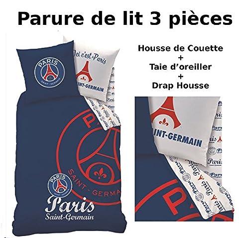Parure de lit (3pcs) - Housse de Couette + Taie