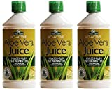 Best Aloe Vera Juices - (3 PACK) - Aloe Pura - Aloe Vera Review